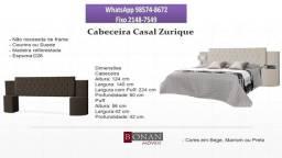 Promoção na loja! Chame agora e receba amanhã!! 98574//8672 - Cabeceira Casal Zurique