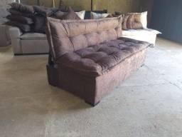 Sofá cama reclinável (fofão) direto da fábrica