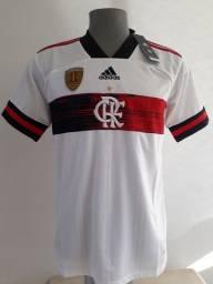 Camisa branca do Fla campeão da libertadores