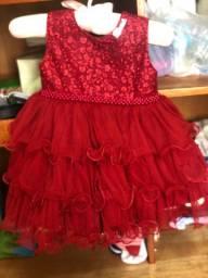 Vestidos de festa Bebê