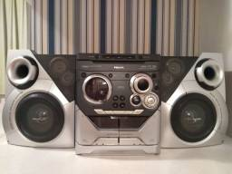 Mini System M35 Phillips 3 CDs