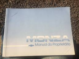 Manual do Proprietário GM Monza quadrado 1990