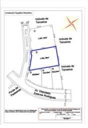 Alugo Terreno no Centro 1.302,50 m2