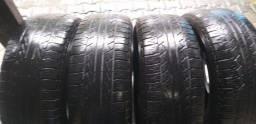 4 pneus 265/65R17  R$600