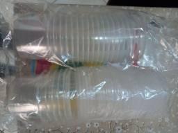Título do anúncio: Pote Plastico Rioplastic com Tampa 250ml Caixa com 475 unidades