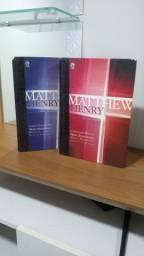 2 livros Matthew Henry