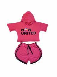 Conjunto Now United - Roupa