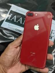 iPhone 8 Plus Gold & Red 64 GB Vitrine Novo