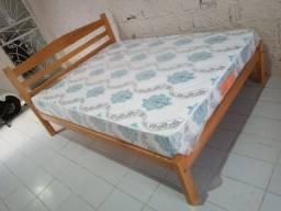cama + colchão D33 da Pelmex 188x138x20cm