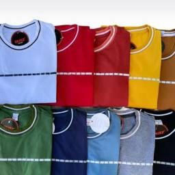 Camisa punho slim fit em algodão