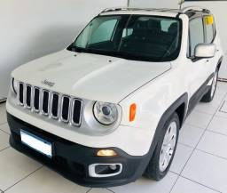 Título do anúncio: Jeep Renegade Limited 1.8 Flex Automático*Sistema Start Stop*Chave Presencial* - 2017