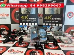 Título do anúncio: Câmera Subaquatica Esporte estilo GoPro Ação 4k Full Hd Wifi