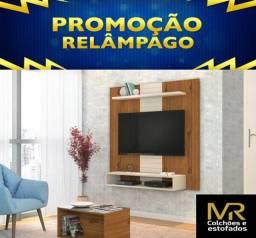 """Painel Home  para TV 47"""" Smart Terrara / Off White Novo a Pronta Entrega"""