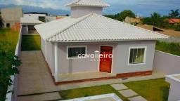 Excelente casa com 3 dormitórios à venda no Jardim Atlântico Leste (Itaipuaçu) - Maricá/RJ