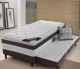 Colchão cama Box tamanho solteiro com auxiliar - Pronta entrega NOVO