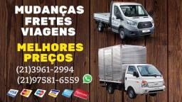 Mudanças- Copacabana, Ipanema, Lagoa, Flamengo etc
