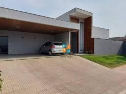 Título do anúncio: Casa com 3 quartos à venda, 174 m² por R$ 850.000 - Condomínio Blue Garden - Sete Lagoas/M