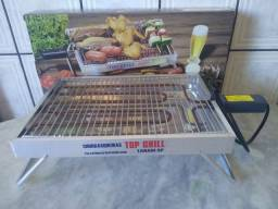 Título do anúncio: Churrasqueira elétrica Top Grill Mega Oferta