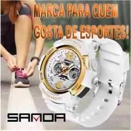 """Relógio Esportivo Sanda 5% Desconto á Vista ou 12X No Cartão """"Original"""""""
