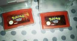 Pokémon fire red os dois