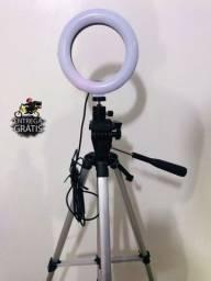 Kit Ring Light + tripé