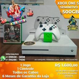 Título do anúncio: Anubis Games: Xbox one seminovo de 500GB a pronta entrega!!!
