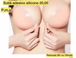 Título do anúncio: Sutiã de silicone PROMOÇÃO 20,00 retirada Boa viagem ou Olinda