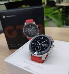 Relógio Smartwatch Xiaomi Amazfit GTR 42mm vermelho feminino