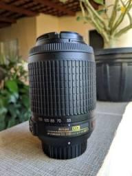 Lente Nikon 55-200mm e Flash Yongnuo