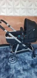 Carrinho e bebê conforto 3 em 1