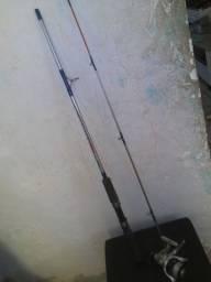 Vara de pesca completa