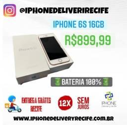 Título do anúncio: Iphone 6S 16gb Rose (12 X Sem Juros) Entrega Grátis