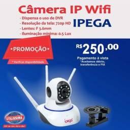 Câmera IP Wifi Ipega ? Entrega grátis