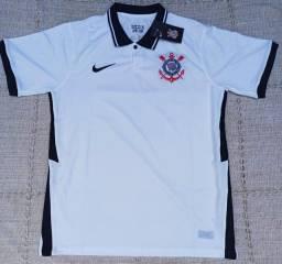 Camisa Corinthians Nike Modelo Torcedor Temp 20/21 Entrego