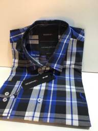 Camisa social manga longa reserva