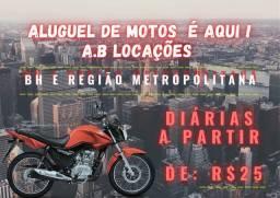 Título do anúncio: Alugar moto