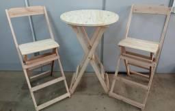 Título do anúncio: Jogo bistrô - 1 mesa 2 cadeiras - SEM PINTURA