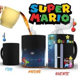 Super Nintendo Caneca Magica Super Mario World