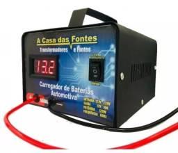 Título do anúncio: Carregador de bateria 20AH, carga rápida e lenta, loja física.