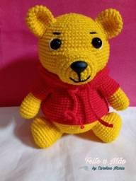 Urso Pooh De Amigurumi