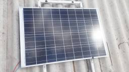 Título do anúncio: Kit solar Painel 70w+Controlador