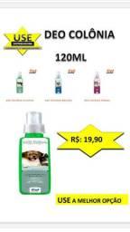 Colonia 120 ml - Para Seu cachorro = 03 Fragancias