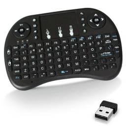 Mini teclado controle Bluetooth para Smart Tv, Tv Box