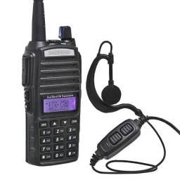 Rádio Comunicador Baofeng Uv-82 Dual Band Rádio Fm