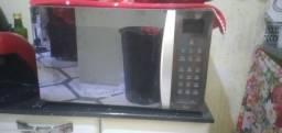 URGENTE lindo microondas32 litros inox espelhado 280,00