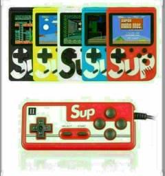 Game boy sup jogo  400 in 1 com controle, ideal para crianças .