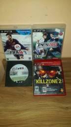 4 JOGOS ORIGINAIS DE PS3