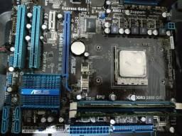 Placa mae asus + processador phenom ii x6