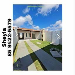 Casa que traz conforto para você e sua família no bairro Pedras. Saia do aluguel!