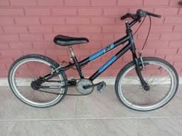 Bicicleta aro 20 preta masculina